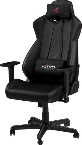 Nitro Concepts S300 EX Gaming Stoel - Carbon Black Main Image