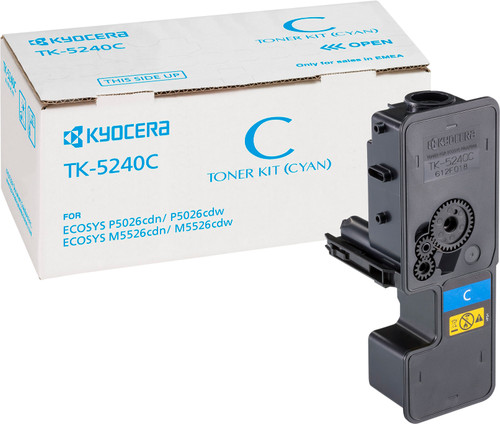 Kyocera TK-5240C Toner Cyan (1T02R7CNL0) Main Image