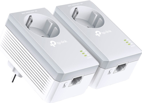 TP-Link TL-PA4010P Geen WiFi 500 Mbps 2 adapters Main Image