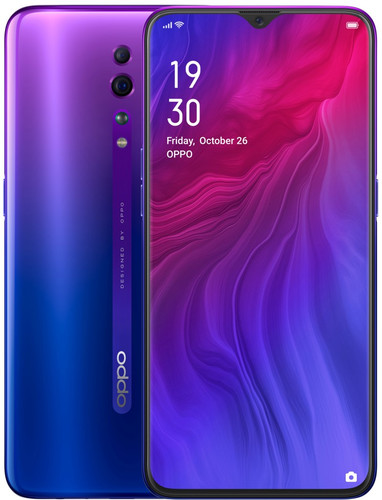 OPPO Reno Z Paars Main Image