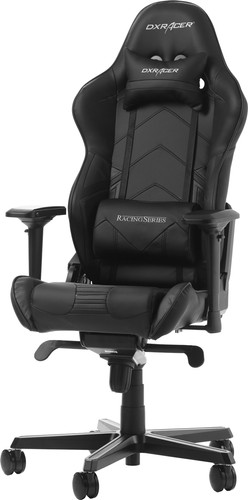 DX Racer RACING PRO Gaming Chair Zwart Main Image