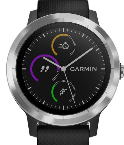 Garmin Vivoactive 3 Zwart/Zilver Main Image