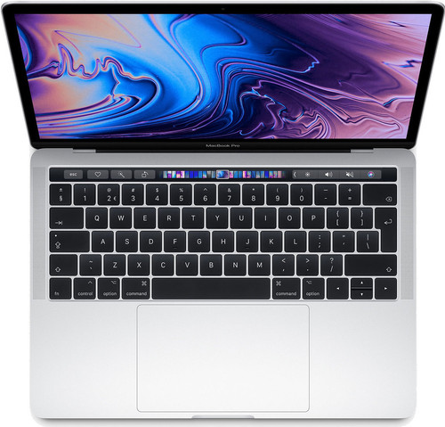"Apple MacBook Pro 13"" Touch Bar (2019) MUHQ2N/A Zilver Main Image"