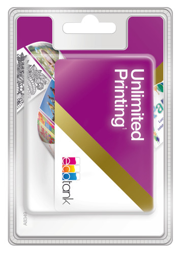 Epson EcoTank Unlimited Printing Card Main Image