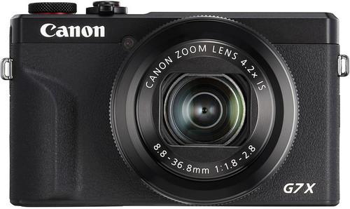 Canon PowerShot G7 X Mark III Black Main Image
