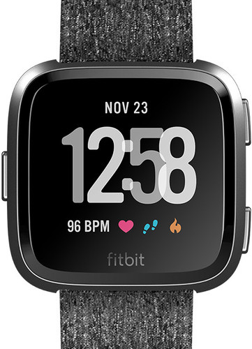 Fitbit Versa Special Edition Charcoal Main Image