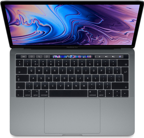 "Apple MacBook Pro 13"" Touch Bar (2019) 8/512GB 1,4GHz Space Gray Main Image"
