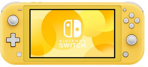 Nintendo Switch Lite Yellow Main Image