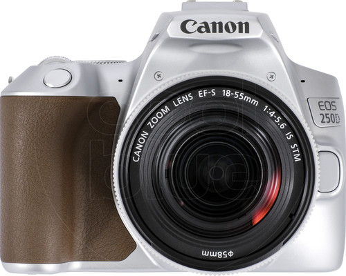 Canon EOS 250D Zilver + 18-55mm f/4-5.6 IS STM Main Image