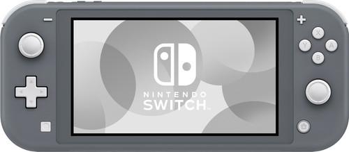 Nintendo Switch Lite Gray Main Image