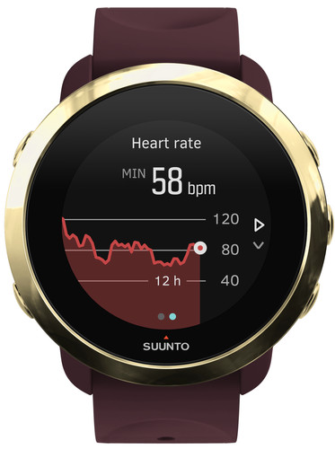 Suunto 3 Gold/Burgundy Main Image