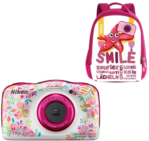 Nikon Coolpix W150 Backpack Kit Flower Main Image