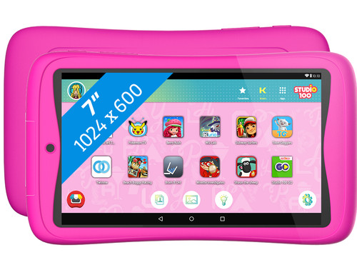 Kurio Tab Connect Studio 100 7 inch 16 GB Wifi Roze Main Image