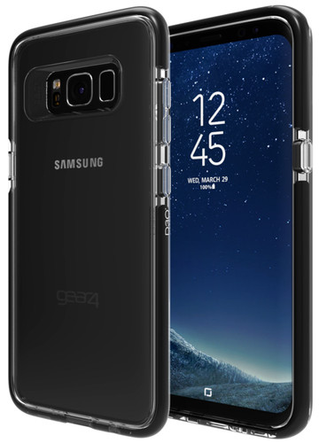 GEAR4 D3O Piccadilly Samsung Galaxy S8 Back Cover Black Main Image