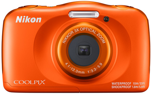 Nikon Coolpix W150 Orange Main Image