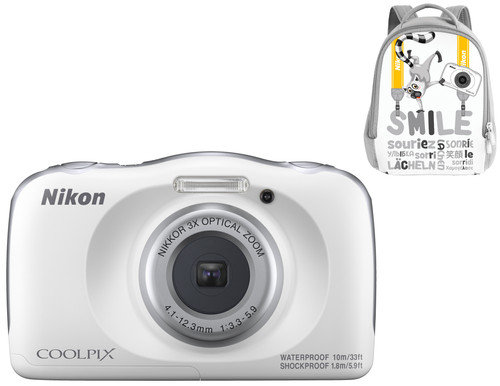 Nikon Coolpix W150 Backpack Kit White Main Image