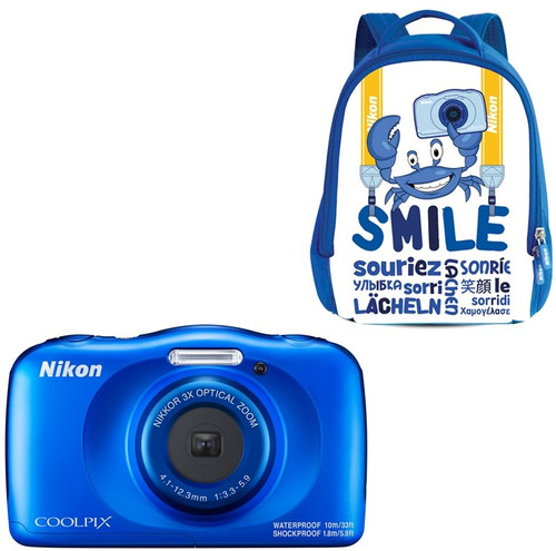 Nikon Coolpix W150 Backpack Kit Blauw Main Image
