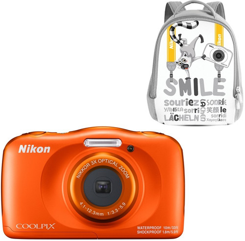 Nikon Coolpix W150 Backpack Kit Orange Main Image