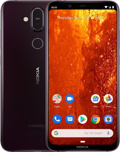 Nokia 8.1 Paars Main Image