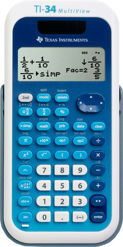 Texas Instruments TI-34 Multiview Main Image