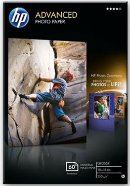 HP Advanced Glossy Foto Papier 60 Vel (10 x 15) Main Image