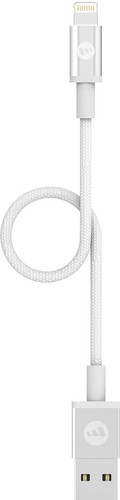 Mophie Usb A to Lightning Cable 9cm White Main Image