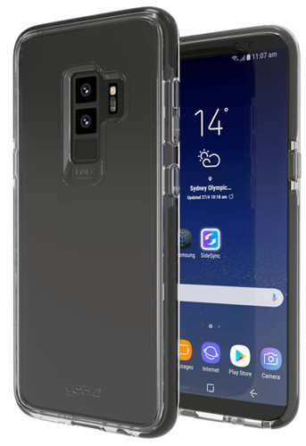 GEAR4 D3O Piccadilly Samsung Galaxy S9 Back Cover Black Main Image