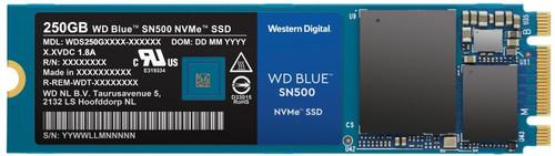 WD Blue 250GB SN500 NVMe Main Image