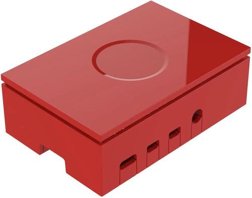 Multicomp Pro Raspberry Pi 4 behuizing - Rood Main Image