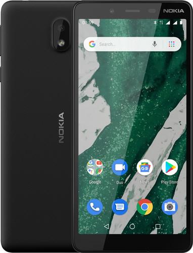 Nokia 1 Plus Zwart Main Image