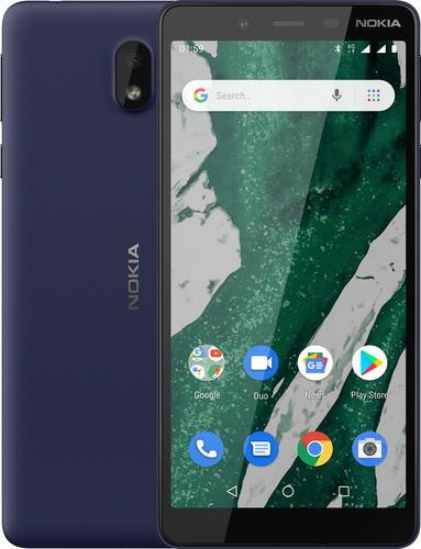 Nokia 1 Plus Blue Main Image