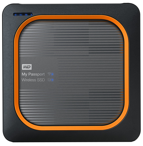 WD My Passport Wireless SSD 1TB Main Image