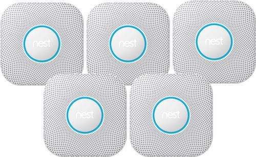 Google Nest Protect V2 (Netstroom) 5-pack Main Image