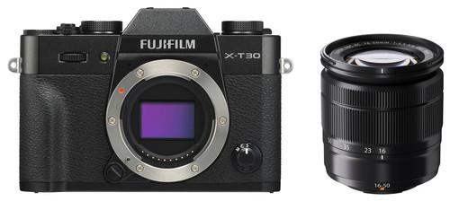 Fujifilm X-T30 Black + XC 16-50mm f/3.5-5.6 OIS II Black Main Image