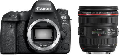 Canon EOS 6D Mark II + EF 24-70mm f/4L IS Main Image