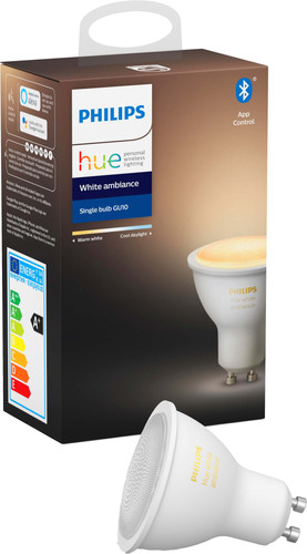 Philips Hue White Ambiance GU10 Single Pack Bluetooth Main Image