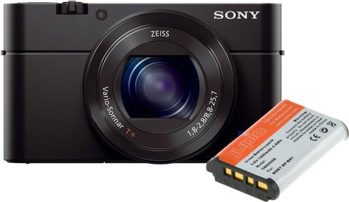 Sony CyberShot DSC-RX100III + Sony NP-BX1 Battery Main Image