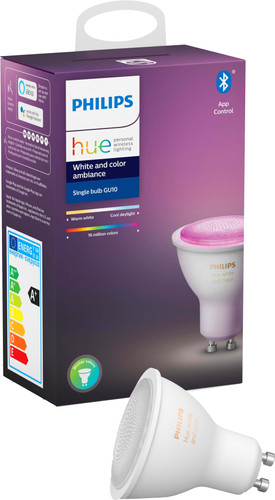 Philips Hue White and Color GU10 Losse Lamp Bluetooth Main Image