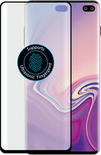 Azuri Curved Tempered Glass Samsung Galaxy S10 Plus Screen Protector Main Image