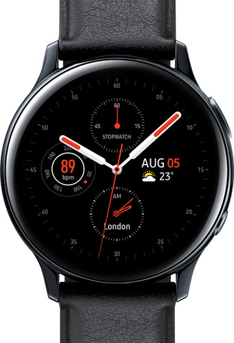 Samsung Galaxy Watch Active2 Zwart 40 mm RVS Main Image