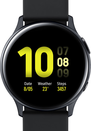 Samsung Galaxy Watch Active2 Zwart 40 mm Aluminium Main Image