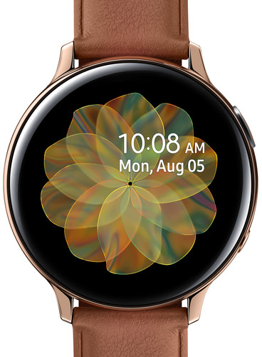 Samsung Galaxy Watch Active2 Gold / Brown 44mm Stainless Steel Main Image