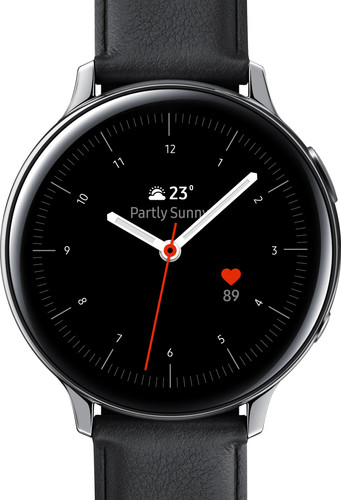 Samsung Galaxy Watch Active2 Zilver / Zwart 44 mm RVS Main Image