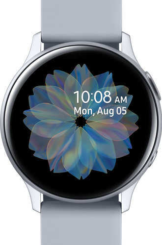 Samsung Galaxy Watch Active2 Silver 40mm Aluminum Main Image