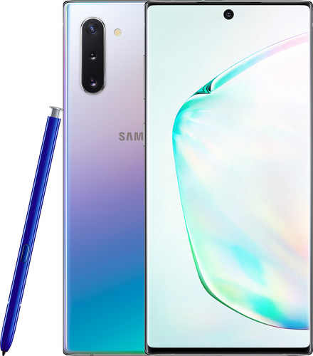 Samsung Galaxy Note 10 256GB Zilver Main Image