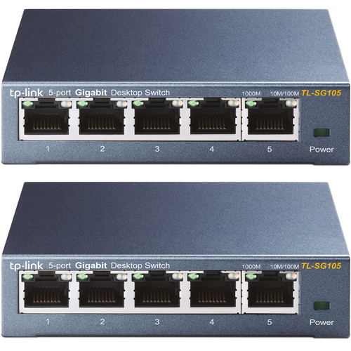 TP-Link TL-SG105 Duo Pack Main Image