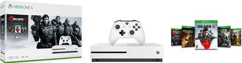 Microsoft Xbox One S 1TB + Gears 5 Main Image