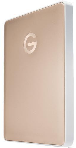 G-Technology G-Drive Mobile USB-C 2TB Goud Main Image