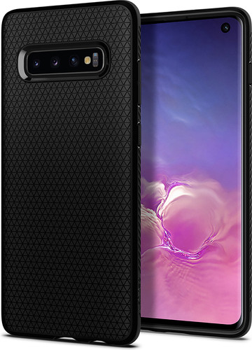 Spigen Liquid Air Samsung Galaxy S10 Back Cover Zwart Main Image