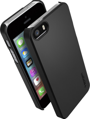 Spigen Thin Fit Apple iPhone 5/5s/SE Black Main Image